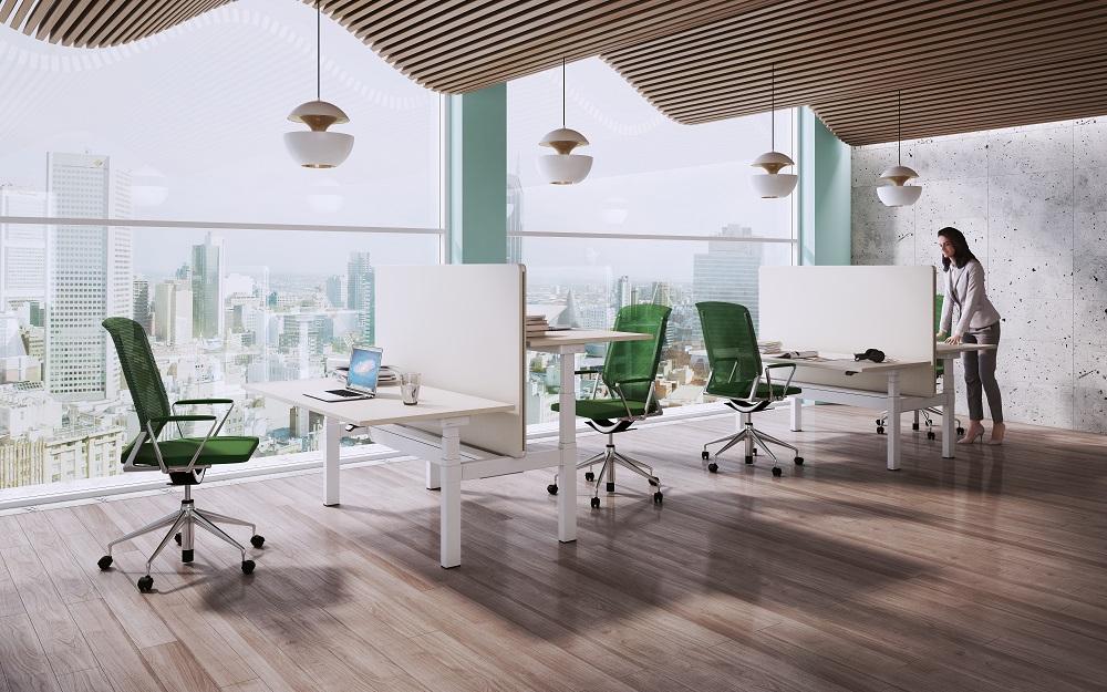 Steh-Sitz Schreibtisch